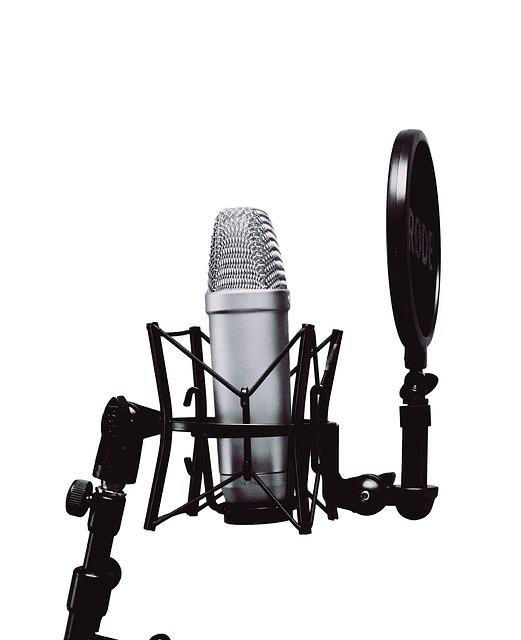 Micrófono para doblaje